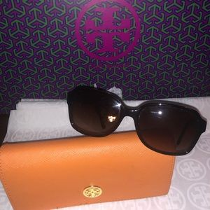 Tory Burch Sunglasses and Case. TY7098